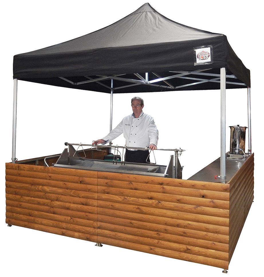 Event Shelters - The pinnacle of outdoor catering structures