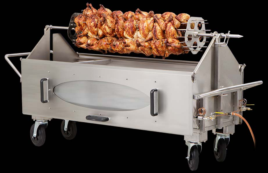 The Elite Full size Poultry Rack - 40 Chickens capacity